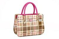 Wholesale Girls Tartan Dresses - handbag and wallet set for women handbag totes for ladies teen girls