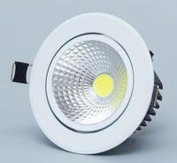 ingrosso cob led dimmerabile da incasso downlight-Faretto a incasso a LED da incasso COB Faretto a soffitto 3w 5w 7w 12w 85-265V da incasso a soffitto Illuminazione da interno