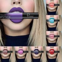 Wholesale best matte moisturizer resale online - Best Lip Makeup Color Sexy Matte Velvet Long Lasting Lipgloss Liquid Lipstick Lip Cream Fashion Sale