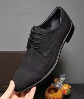 Wholesale Lizard Shoes - Newest Black Genuine Leather Lizard Pattern Italian Style Men's Shoes Loafer Dress Shoes Oxfords Office Suit Wedding Party Shoes,Size:38-44