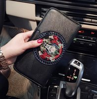 Wholesale Women Sophisticated Fashion - Original design brand package large capacity women's purse fashion sophisticated totem women hand wallet high-end quality leather wallet