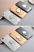 Wholesale integrated car for sale - Group buy 360 Degree Metal Kickstand Crystal Soft TPU Silicone Case For Iphone Plus S Car Holder Stand Integrated Bracket S8 Case