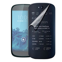 Wholesale Iphone Body Price - Wholesale-Factory price New Transparent Front + Back Film LCD Screen Protection For Yota Yotaphone 2 Nov1