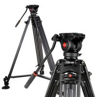 Wholesale Tripods For Video Dslr - Viltrox Pro 1.8m Aluminum Heavy Duty Video Fluid Tripod VX-18M + Pan Head + Carrying Bag for DSLR Camera DV Camcorder