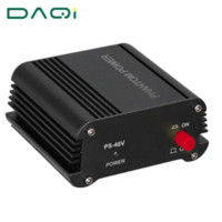 Wholesale Dc Studios - Best fine workmanship 48V DC Phantom Power Supply For Condenser Mic Vocal Broadcasting Studio Recording Computer Microphone