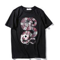 Wholesale Mens Tie Dyed T Shirts - Retro Mens Tie Dye Men T Shirt Fear of god Hi-Street Hip Hop Rock T-Shirts Men Harajuku Streetwear Snake Casual Tees