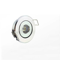 Wholesale Free Kitchen Cabinet - 3W LED cabinet lamp LED mini round circle Recessed Ceiling Down light high power white aluminum LED Downlight Free shipping by DHL