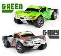 Wholesale Electric Power Car Remote Control - Wholesale- Wltoys A969 2.4G 4CH 4WD Shaft Drive RC Truck High Speed Stunt Racing Car Remote Control Super Power Off-Road Vehicle
