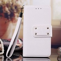 Wholesale Iphone Bags Women - phone shell leather bag handbag for iPhone 6 6s plus 6plus i7 7plus cover woman Ladies bags Wallet phone case for s6 s7 plus s8