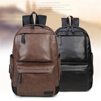 Wholesale Outdoor Back Packs - Fashion men leather new styles bags Backpack For Women men backpacks bags sports outdoor Back Pack Unisex School Bags out272
