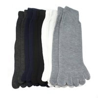 Wholesale One Toe Socks - Wholesale-5 Pairs Socks Five Fingers Separate Toe Socks Comfortable Warm One Size Fits Most #2132
