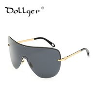 Wholesale Unique Super - Wholesale- Dollger Goggle polarized Sunglasses vintage designer unique Fashion super frame winter windproof Sunglasses cool glasses s1328