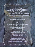 High quality Acrylic clear Butterfly Wedding invitations card,wedding invites,acrylic invitations,wedding invitations,Birthday invitations