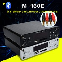 Wholesale player flac for sale - Group buy Freeshipping Bluetooth Digital Audio Amplifier Input USB SD AUX PC USB Loseless Player For APE WMA WAV FLAC MP3 W