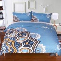 Wholesale Design Flower Bedding - 2017 New Flowers Bedding Set Qualified Bedclothes Unique Design No Fading Duvet Cover Twin Full Queen
