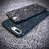 200 pcs Atacado Bling Glitter Hard PC Phone Case para iPhone 6 6 Plus Star Phone Cover Shining Mobile Phone Case para iPhone 7