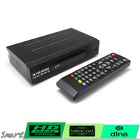 Wholesale Digital Analog Tv Box - Mexico Free To Air TERRESTRIAL ATSC TV BOX 1080P HDMI (Digital Analog) CONVERTOR RECEIVER HDTV NTIA Cert Without VHF UHF ANTENNA