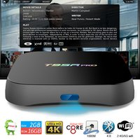 S912 Android 7.1 caixas de TV Octa núcleo córtex-A53 Media Center totalmente carregado KDMC17.1 Dual Band Internet WiFi TV Box T95R PRO 2GB 16GB