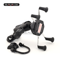 Wholesale Bmw R Motorcycle - For BMW R1150GS R1150R R1200GS R1200R R1100 R1200 GS R Motorcycle Accessories GPS Navigation Frame Mobile Phone Mount Bracket