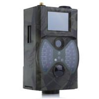 ingrosso gprs telecomando-HC300M 940NM Telecamera da caccia a infrarossi per visione notturna 12m Telecamera digitale Trail Supporto Telecomando 2G MMS GSM GPRS per caccia TB