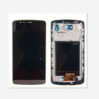 Wholesale Parts Screen Displays - For LG G3 D850 D851 D855 VS985 LCD Display Touch Screen Digitizer With Frame Replacement Parts 1pcs lot free shipping