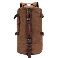 Wholesale Retro Gym Bags - Spuitom Duffel Bag Retro Travel Bag with Strap Weekend Bag Canvas Travel Bags