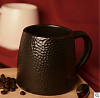 Wholesale Golf Mug - 2017 Creative new fashion Golf cup black hammer India mug Starbucks honeycomb ceramic mug gift cup