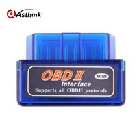 Wholesale obdii car auto diagnostic online - ELM327 Bluetooth Auto Diagnostic Tool V1 ELM Diagnostic Tool OBD2 Car Code Scanner OBD OBDII Scaner Automotivo V