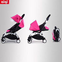 Wholesale Lightweight Travel Strollers - In Stock 100% Original Travel Baby Stroller Umbrella Wagon Portable Folding Baby Stroller Lightweight Pram With 8 Accessory Gift