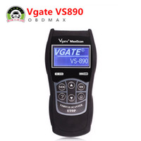 Wholesale Diagnostic Scan Tool Multi Language - VGATE VS890 OBD2 Scanner Code Reader Universal Multi-language and Car Diagnostic Tool Scan Vgate MaxiScan VS890