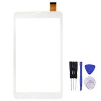 "сенсорный планшет оптовых-Wholesale- New 8"" Touch Screen JZ zj-80038a Tablet Digitizer Panel Sensor Glass Replacement Free Shipping"