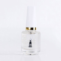 Wholesale uv nails cover gel - Wholesale-15ml Clear Top Coat Multi-Use Top Coat Transparent Nail Polish Topcoat Glossy Cover Surface Oil Varnish Nail Art Tool