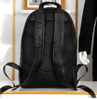 Wholesale Diamond Backpack - Top quality brand new genuine leather backpack shoulders bag tote satchel school bag G112
