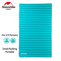 Wholesale U Clear - Wholesale- NatureHike Inflatable Mattress for 2~3 Person 200x120x9.5cm Big Size Portable Air Pad NH17T120-U