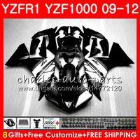 Wholesale yamaha yzf r1 fairings resale online - Body For YAMAHA YZF Black white R YZFR1 Bodywork NO39 YZF1000 YZF R1 YZF YZF R1 Fairing