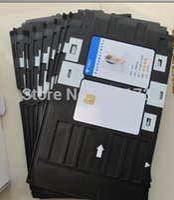 Wholesale printable blank cards for sale - Group buy Inkjet Printable blank PVC card for Espon printer Canon printer card tray