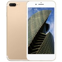 Wholesale Hdc Android Inch 3g - HDC goophone i7 i7 Plus smartphone 5.5 inch Quad core 1GB RAM 32GB ROM Unlocked 3G wcdma show 4G LTE Cell phones