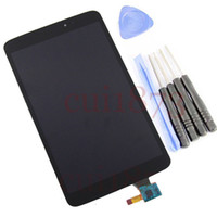 Wholesale Verizon Touch Screens - Wholesale- Free shipping top quality Full LCD display + touch Screen digitizer Assembly For LG G Pad 8.3 VK810 Verizon Black free tools