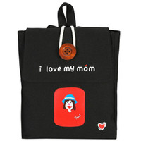 Wholesale Tennis Mom - I love my mom backpack Free style school bag Kindly daypack Nice schoolbag Outdoor rucksack Sport day pack