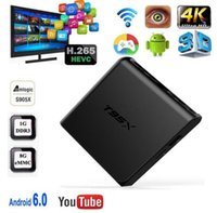 T95X Android TV-Box 2 GB 8 GB 2 GB 16 GB Wifi Dolby 3D TV Box Media Player Kostenlose TVApps in Media Center voll geladen