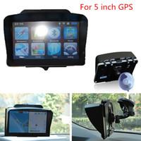 Wholesale Gps Hood - 2017 GPS Universal Sunshade Portable Anti Glare Screen Sun Shield Visor Hood For 5 inch Car GPS Navigation Best Price CIA_506
