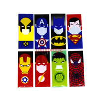 Wholesale Minion Covers - New Design 18650 Battery Vape Wrappers Battery Vaper Stickers PVC Skin 18650 battery Cover Sleeve Super Hero Minions Pikachu US Dollars