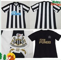 DHL FREE Wholesale - New Newcastle United home Maglia da calcio 17 18 Newcastle United Soccer Shirt Personalizzata uniforme da calcio 2017 2018 Saldi