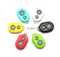 Wholesale Portrait Family - Wholesale- Universal Wireless Bluetooth Remote Controller Shutter Release For Android iOS Smartphone Selfie Stick Family Portrait Party