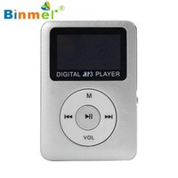 Wholesale Usb Sound Card Price - Wholesale- Best Price MP3 Player gift Lossless Sound USB Digital MP3 Player LCD Screen Support 32GB Micro SD Card Hot-sale Mar31