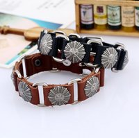 Wholesale Snap Necklace Clasp Plastic - High quality Retro punk leather necklace FB403 mix order 20 pieces a lot Slap & Snap Bracelets