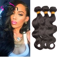 Wholesale 2017 Brazilian body wave human hair extension weft remy Body Wave Unprocessed Indian Brazilian virgin human hair hot beauty hair
