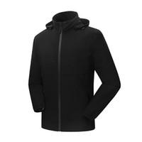 jaquetas à prova d'água venda por atacado-Atacado-cor sólida Homens Outdoor Sport jaquetas impermeáveis Masculino Camping Caminhadas Windbreaker Correndo Softshell Jacket Windproof Coat