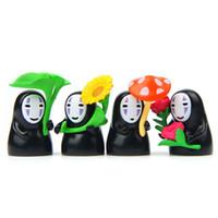 herramientas de casa de muñecas al por mayor-4 unids Anime Juguetes Decoración Del Hogar Accesorios de Hadas Jardín Miniatura Dollhouse terrario Bonsai Herramientas Artes de Resina Micro Paisaje jardin diy
