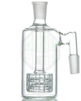 ingrosso olio da 18 mm-Raccoglitore di cenere spessa con raccordi Matrix perc 18 mm ad angolo retto Raccoglitore di cenere per bong in vetro
